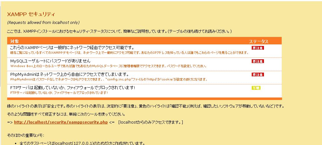 MySQL XAMPP