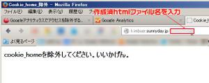 Googleアンリティクス ip 除外