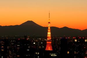 訪日,東京タワー