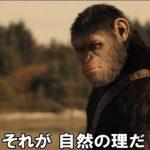人類はどこへ行く「猿の惑星 聖戦記」