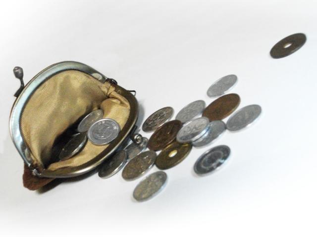 デフレ,財布