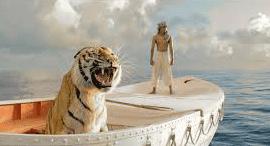 トラ,漂流
