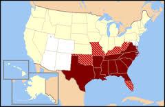 アメリカ南東部がアツい