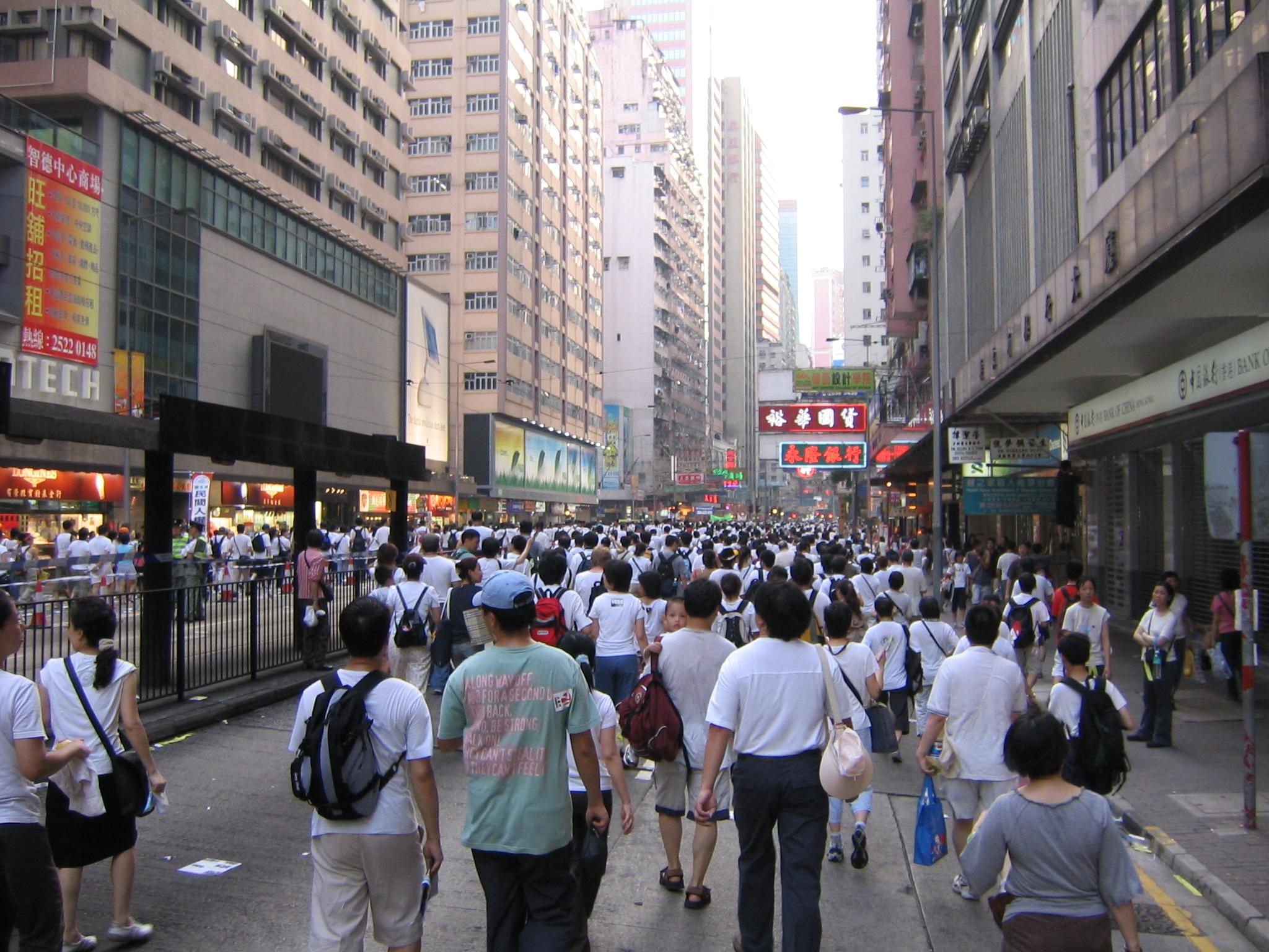 香港のデモで知った世界における「香港」の立ち位置