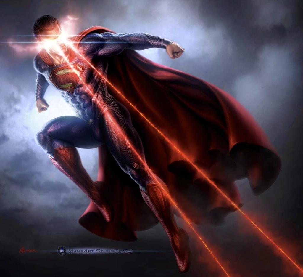スーパーマン ビーム